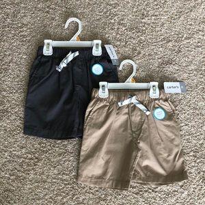 Carters boy shorts Sz 3T Bundle NWT